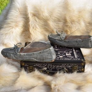 Frye Shoes - FRYE Reagan Campus Driver Moccasins Leather Shoes